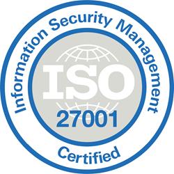 Sello ISO 27001